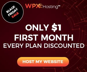 WPX Hosting Black Friday: First Month $1 ONLY
