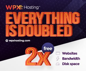 WPX Hosting Black Friday: Double Dealio