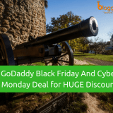 GoDaddy Black Friday And Cyber Monday Deal for 2018