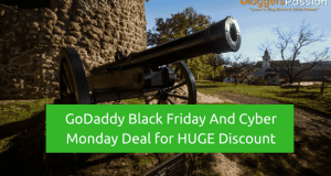 GoDaddy Black Friday And Cyber Monday Deal