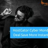 HostGator Cyber Monday Deal for 2018 to Save Up to 65% Instantly