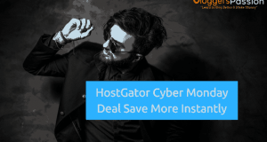 Hostgator Cyber Monday Deal 2018