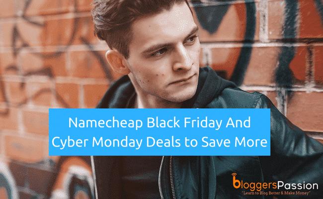Namecheap Cyber Monday Deal 2018