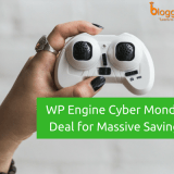 WPEngine Cyber Monday Deal for Massive Savings In 2018: Get Flat 35% OFF [5 1/2 Months Free Hosting]