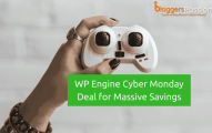 WPEngine Cyber Monday Deal for Massive Savings in 2019: Get Flat 35% OFF [5 1/2 Months Free Hosting]