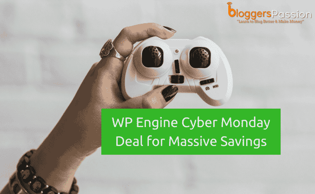 WPEngine Cyber Monday Deal 2019