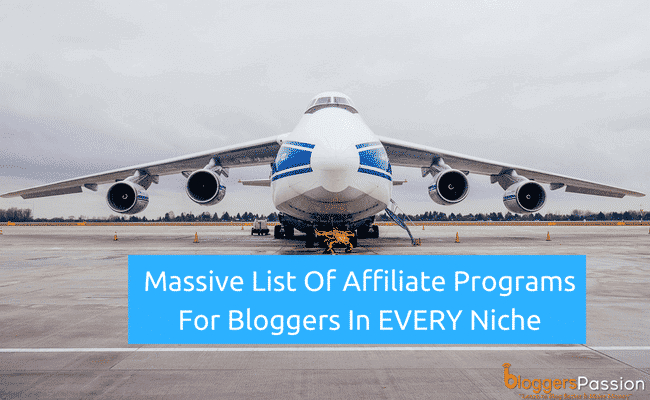 Best affiliate programs in 2018