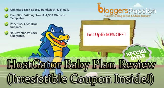 Hostgator Baby plan