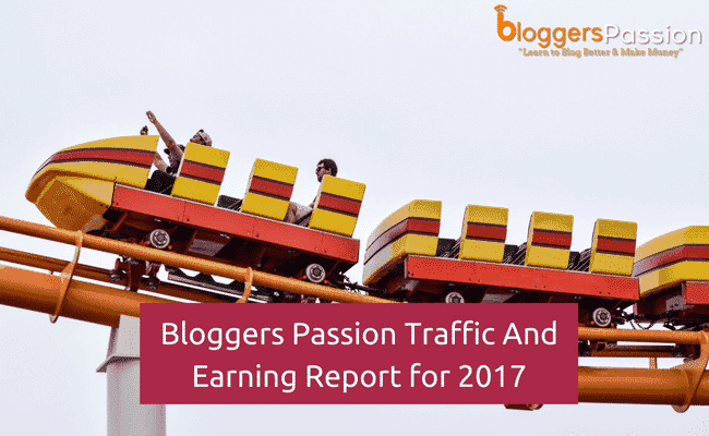 earning report bloggers passion