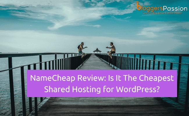 Namecheap hosting review