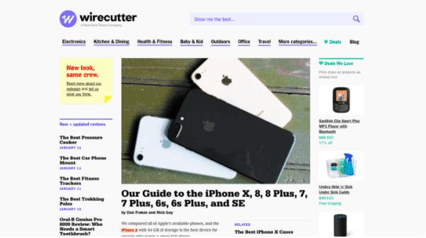 wirecutter blog earnings