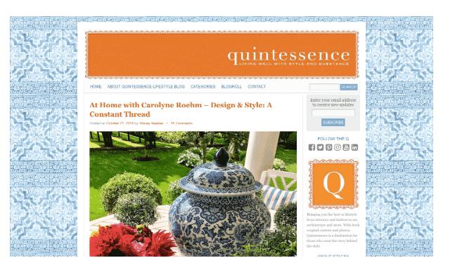 Quintessence blog