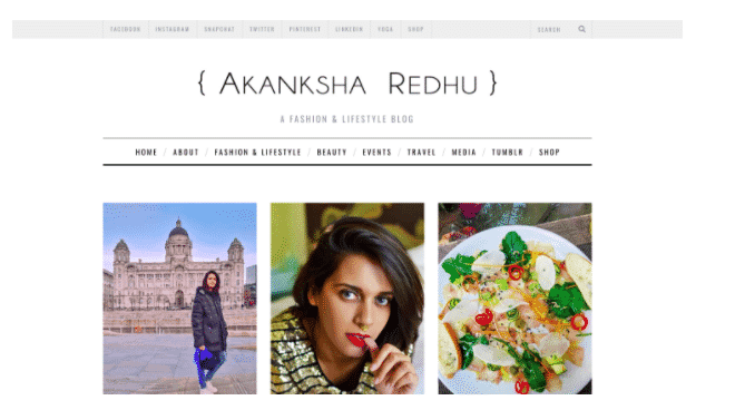 akanksha blogger