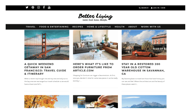 better living blog