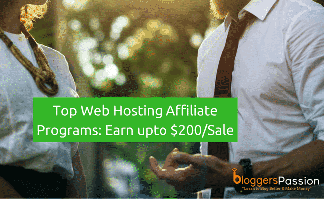best web hosting affiliate programs
