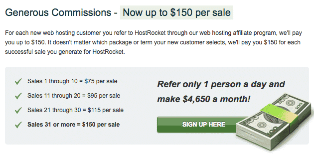 HostRocket affiliate program