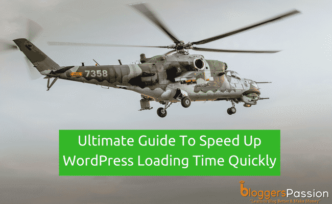 How to Speed Up WordPress Blog Loading Time Guide