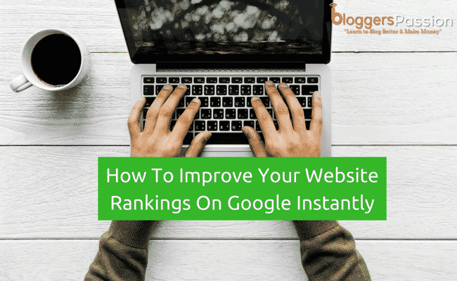 increase website rankings quickly
