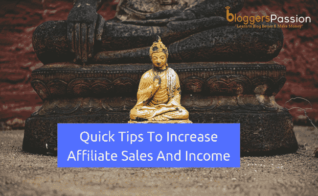 increase affiliate sales in 2018