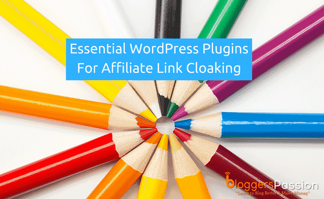 wordpress plugins affiliate link cloaking