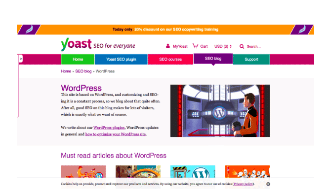 yoast wordpress blog