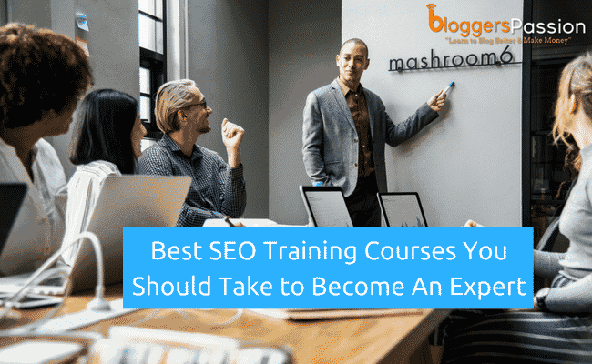 best seo training