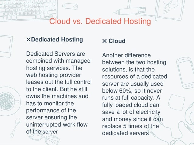cloud vs managed