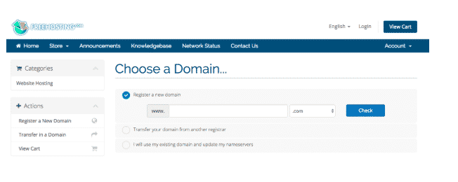 free hosting.com