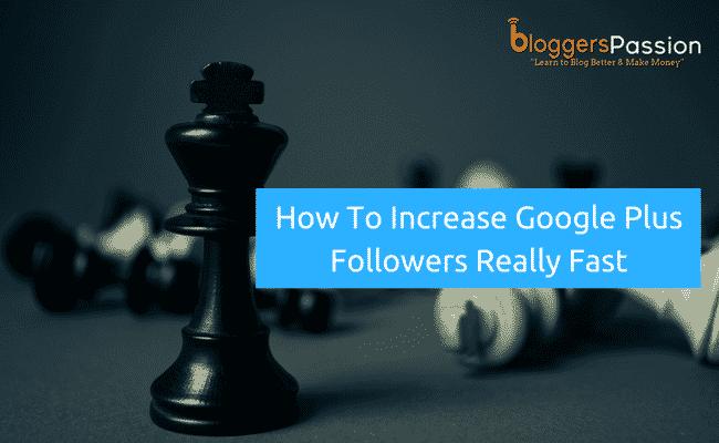 ways to Increase Google Plus Followers