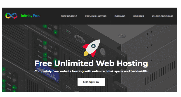 Infinity free хостинг как удалить свой сервер на хостинге