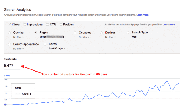 search metrics new