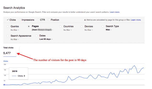 search metrics new