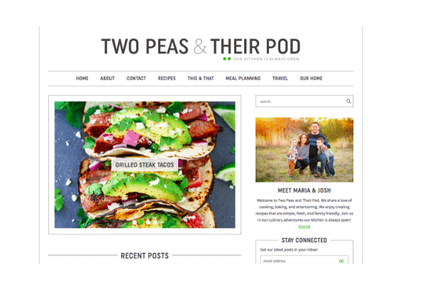 Two Peas And Their Pod blog
