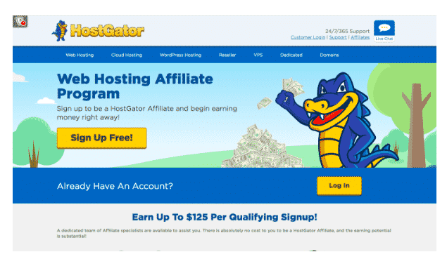 hostgator program