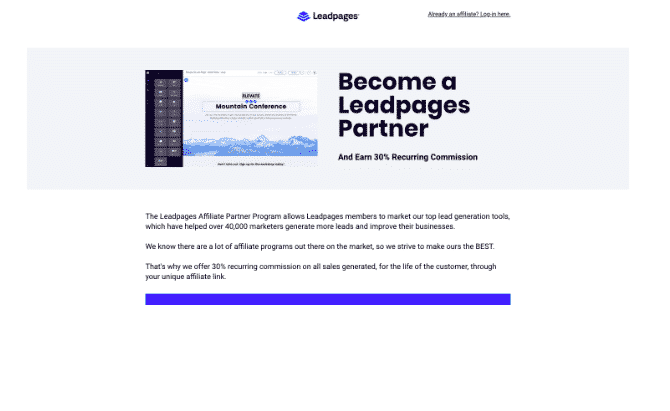 leadpages partner