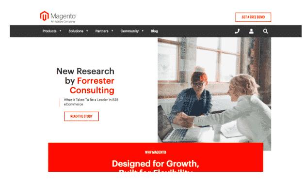 magento blogging platform