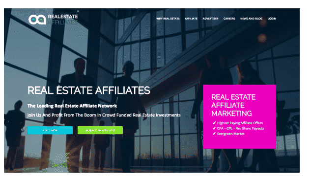 real estate affiliates