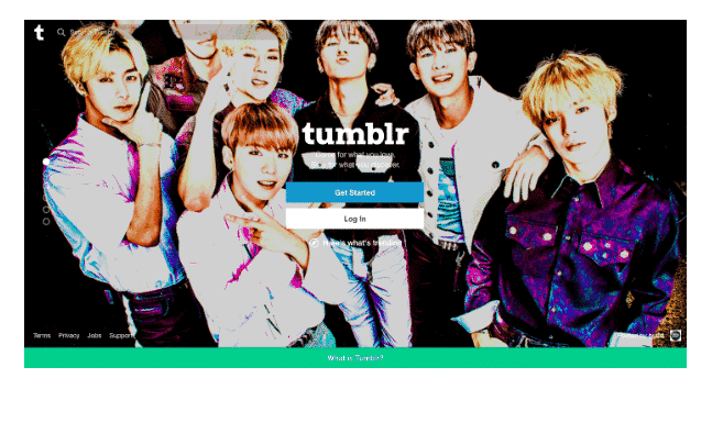 tumblr blogging platform