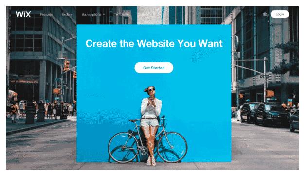 wix blogging platform