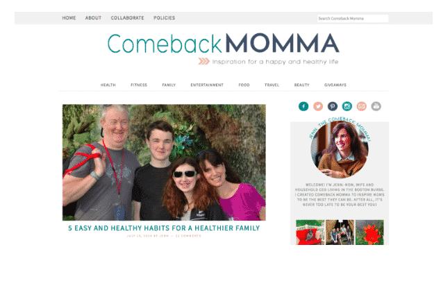 comeback mom
