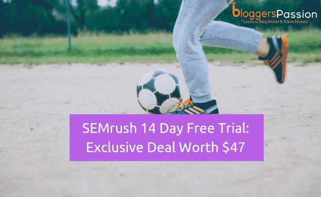 semrush 14 day trial