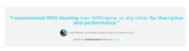wpx blogger review