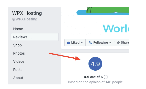 wpx hosting fb
