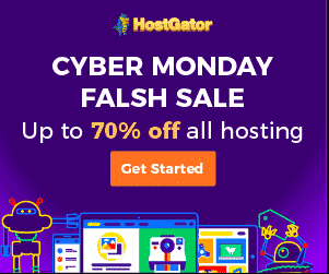 cyber monday hostgator