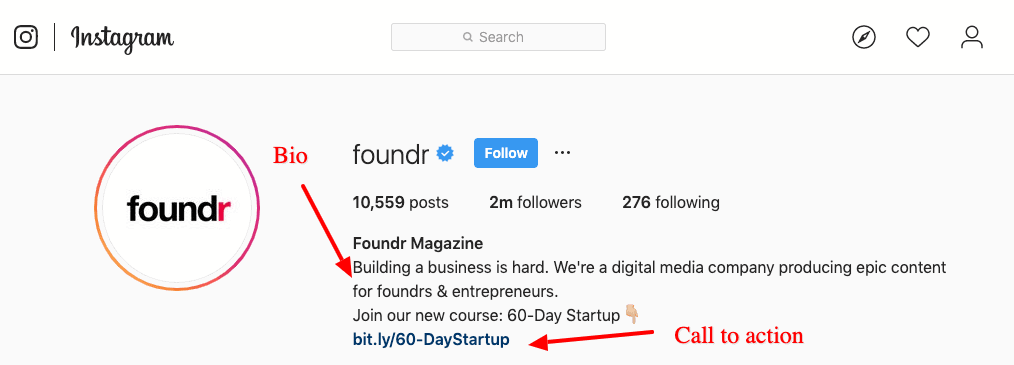 foundr instagram