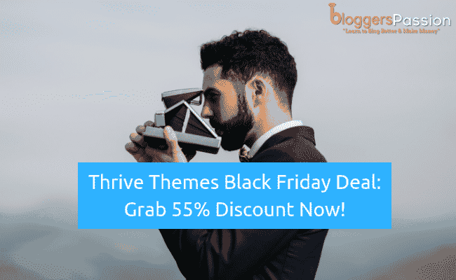 thrive themes black friday