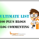 Ultimate List of 100 Plus High DA Blog Commenting Sites for 2019 [High Quality]