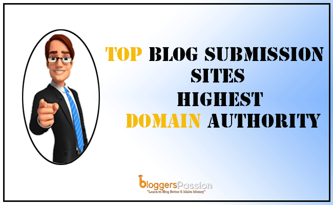 Top Blog Submission Sites List 2019