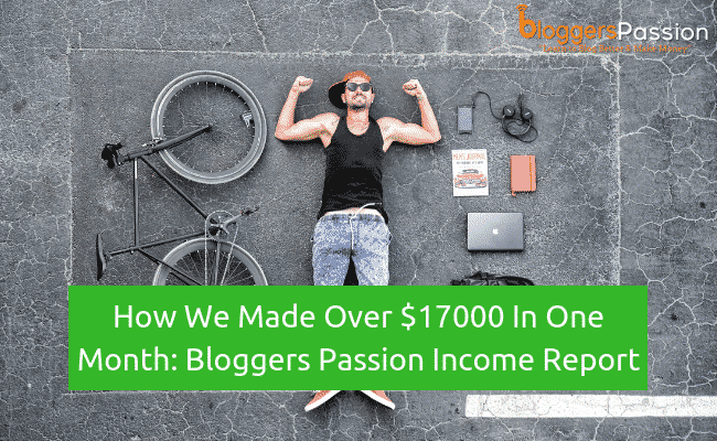 bloggers passion income report November 2018