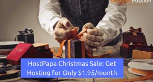 hostpapa christmas sale
